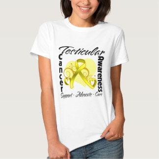 Heart Ribbon - Testicular Cancer Awareness Tees