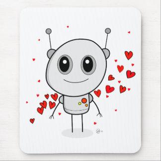 Heart Robot - Mousepad