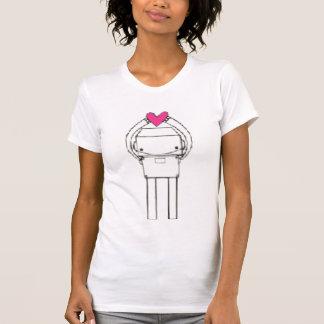 heart-robot- T-Shirt