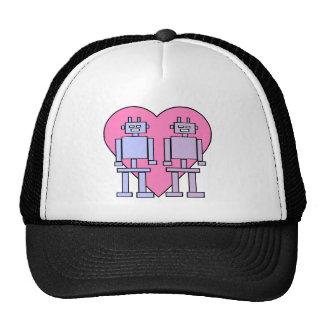 Heart Robots Cap