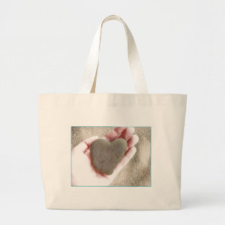 Heart Rock Beach Bag