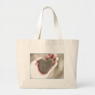 Heart Rock Beach Bag