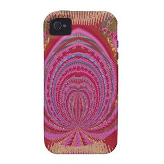 Heart Romance Love EMBLEM PinK PurpLE  Satin Silk iPhone 4 Covers