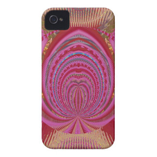Heart Romance Love EMBLEM PinK PurpLE  Satin Silk Case-Mate iPhone 4 Case