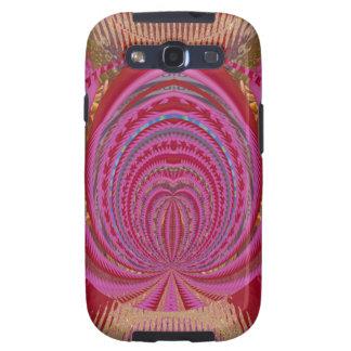 Heart Romance Love EMBLEM PinK PurpLE  Satin Silk Samsung Galaxy S3 Cases