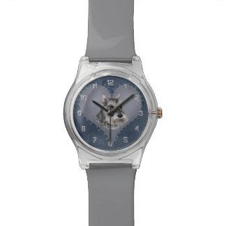 Heart Schnauzer Watch