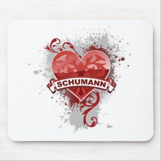 Heart Schumann Mouse Pads