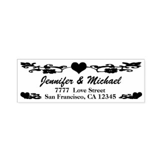 Heart Self Inking Stamp