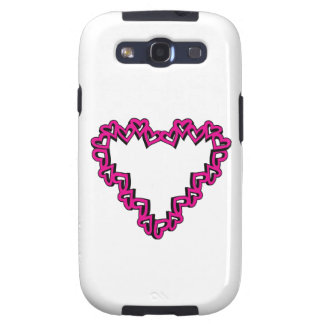 Heart Shape Galaxy SIII Covers