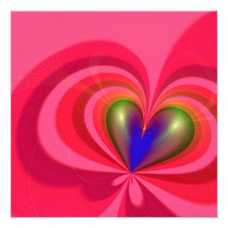 Heart Shape Invites