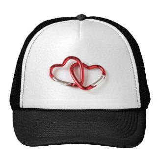 Heart shape key chain. Love Trucker Hat
