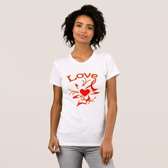 Heart shape with love T-Shirt