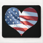 Heart Shaped American Flag