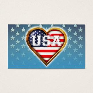Heart-Shaped American Flag