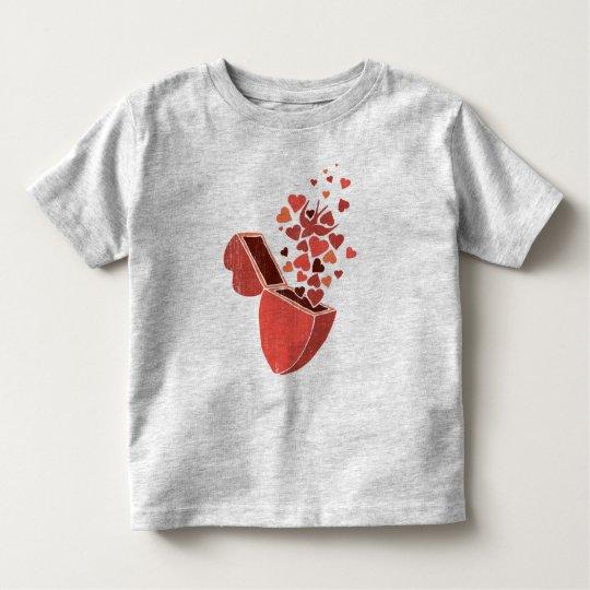 heart shaped box toddler T-Shirt