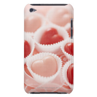 Heart-shaped candies iPod touch case