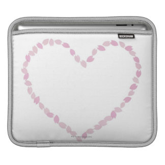 Heart Shaped Cherry Blossom iPad Sleeves