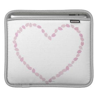 Heart Shaped Cherry Blossom iPad Sleeves