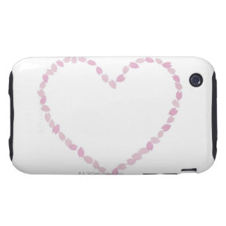 Heart Shaped Cherry Blossom iPhone 3 Tough Cover
