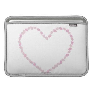 Heart Shaped Cherry Blossom MacBook Air Sleeves