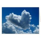 Heart-Shaped Cloud Card