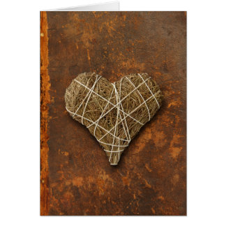 heart-shaped collection 13 greeting card
