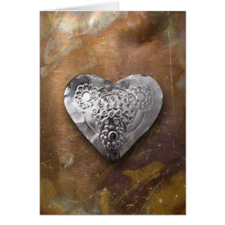 heart-shaped collection 16 greeting card
