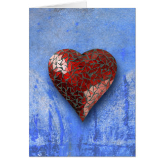 heart-shaped collection 22 greeting card