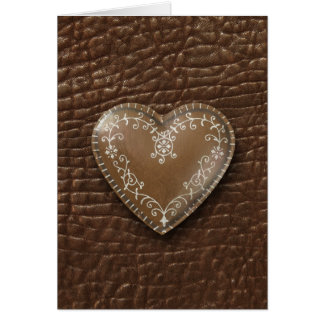 heart-shaped collection 23 greeting card