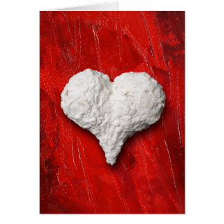 heart-shaped collection 26 greeting card