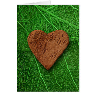 heart-shaped collection 28 greeting card