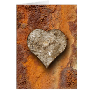 heart-shaped collection 6 greeting card
