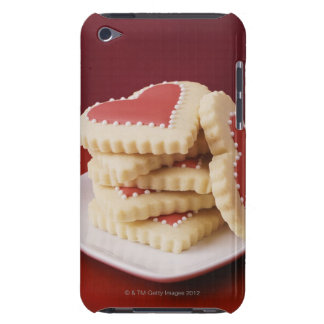 Heart Shaped Cookies on a Dish Barely There iPod Cases