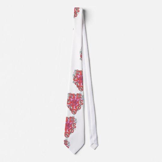 Heart Shaped Flower Tie