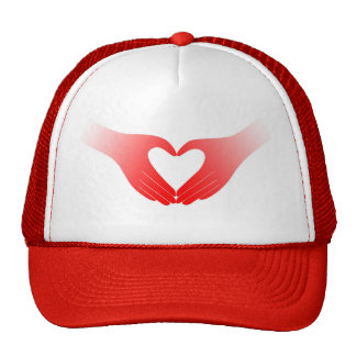Heart Shaped Hands Cap