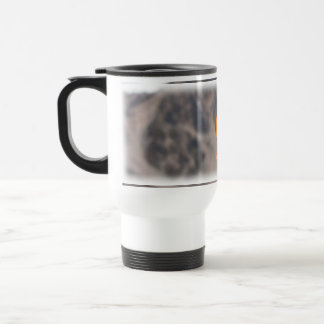 Heart-Shaped Leaf Stainless Steel Travel Mug