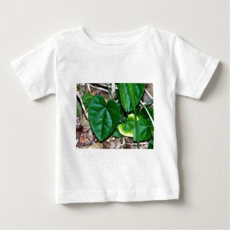 Heart Shaped Leaves Vine Tee Shirt
