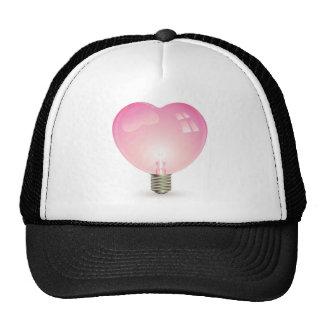 Heart Shaped Lightbulb Cap