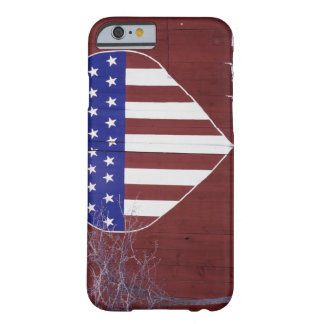 Heart-Shaped Stars and Stripes Barely There iPhone 6 Case
