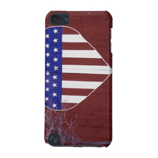 Heart-Shaped Stars and Stripes iPod Touch (5th Generation) Cover