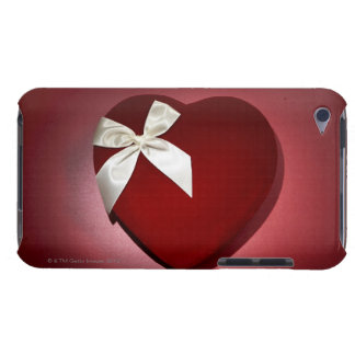 Heart shaped velvet box with ribbon barely there iPod cover