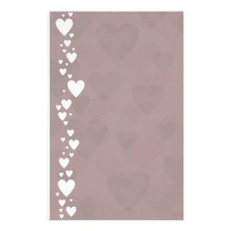 Heart Sides III Stationery