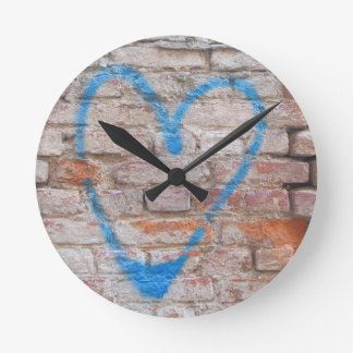 Heart Sign Love Passion Clock