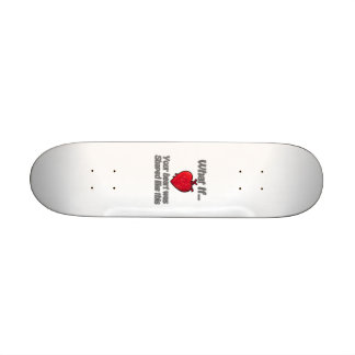 Heart Skate Deck