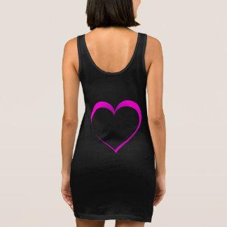 Heart Sleeveless Dress