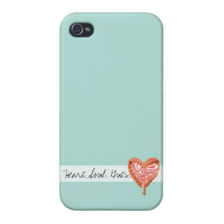Heart Soul Guts Crohn's iPhone Case iPhone 4/4S Covers