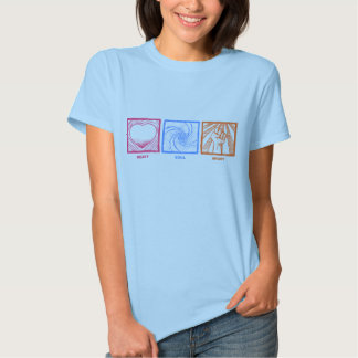 Heart Soul Might Tee Shirt