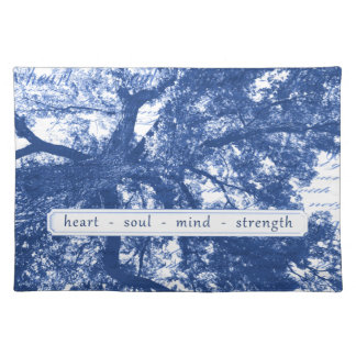Heart Soul Mind Strength Placemat