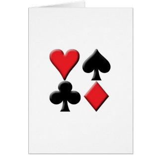 Heart, Spade, Club and Diamond Cards