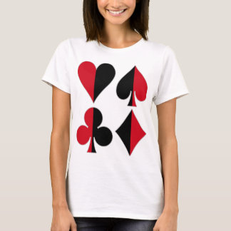 Heart Spade Diamond Club T-Shirt
